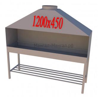 Профессиональный мангал 120х45