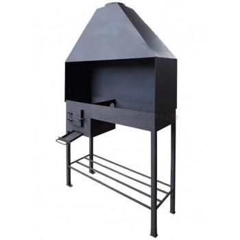 Профессиональный мангал 4 мм сталь